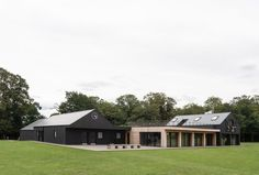 This sports pavilion was built to provide changing facilities and social spaces for Teddington Cricket Club. Architecture Today, Architecture Details, Larch Cladding, Richmond Upon Thames, Structural Insulated Panels, Timber Panelling, Royal Park, Timber Structure, Construction Cost