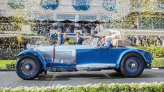 1929 Mercedes Benz S Barker Tourer Best of Show - Pebble Beach 2017 Mercedes Benz, Restoration Shop, Beach 2017, Bike News, Pebble Beach Concours, Benz S, Bike Reviews, Le Mans, Car Ins
