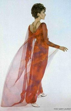 1963 - Yves Saint Laurent dress
