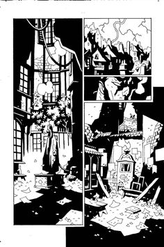 Hellboy in Hell: issue #7, page 19 by Mike Mignola