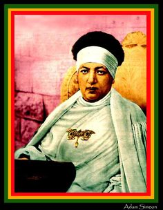 Her Divine Highness Empress Menen of Ethiopia. Wife of Haile Sellassie I
