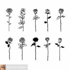 Tattoo rose drawing tat ideas for 2019 Mini Tattoos, Flower Tattoos, Body Art Tattoos, Tatoos, Rose Rib Tattoos, Rose Tattoo Stencil, Simple Rose Tattoo, Tatoo Rose, Geometric Tatto