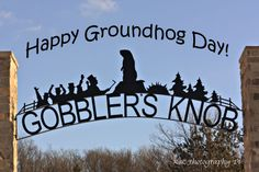"""Happy Groundhog Day!"" :) Feb.2"