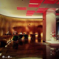 上海外灘英迪格飯店的大廳裝飾一。1st photo #Lobby #Hotel Indigo #Shanghai