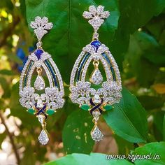 Rejewel brings you this long and Graceful American Diamond earrings in Green CZ Stones and Blue Enamel work.These earrings will definitely make you standout in the crowd. Dress up with these to Impress no one but You. Get the collection here: www.rejewel.in #blingonwithrejewel #earrings #adearrings #americandiamondearrings #fashionjewelry #fashionjewellery #jewelrygram #imitationjewellery #instajewellery #antiquejewellery #antiquejewelry #onlinejewellery #jewellery #jewelery #inspirations…