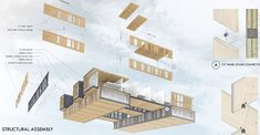 Modular CLT building wins student 2016 Timber in the City competition Affordable Housing, Wood Paneling, Architecture Design, Woodworking, Building, Apartments, Competition, Student, Google Search