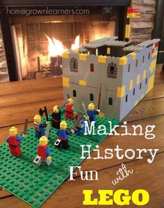 Making History Fun With Lego Lego Activities, History Activities, History Education, Teaching History, Educational Activities, Classical Education, History Classroom, Classroom Themes, Teaching Resources