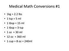 Dosage Calculations and Medical Math Nursing Math, Nursing School Notes, Pharmacology Nursing, Nursing Tips, Nursing Students, Ob Nursing, Nursing Schools, Medical Students, Medical School