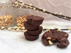 Chocolate Biscuits, Healthy Sweets, Paleo, Dairy Free Recipes, Stevia, Free Food, Sweet Tooth, Muffin, Cooking