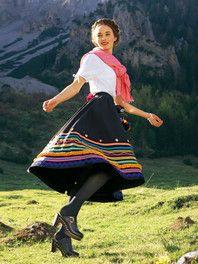 burda style: Damen - Dirndl & Trachten - Trachtenrock - Tellerrock