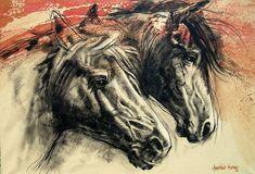 "14 Me gusta, 0 comentarios - Americo Hume (@americohume) en Instagram: ""Trabajo Reciente 2021 #americohume #cuadrosmodernoschile #cuadrosabstractoschile…"" Moose Art, Horses, Animals, Instagram, Modern Paintings, Animales, Animaux, Animal, Animais"