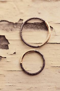our wedding bands. #cocolovehomemade wedding. rings from Michele Varian. coco love wedding at Terrain at Styers