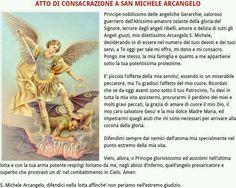 La potente Novena (anche Triduo) a san Michele Arcangelo – Cooperatores Veritatis San Michele, Maria Grazia