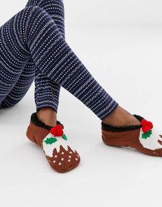 Shop Brave Soul christmas pudding slipper Socks at ASOS. Happy Christmas Day, Family Christmas Pajamas, Slipper Socks, Slippers, Birth Of Jesus Christ, Christmas Pudding, Teacher Gifts, Brave, Asos