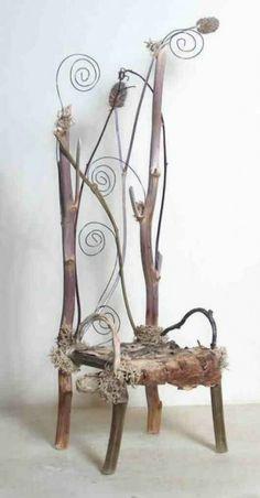 naturholzmöbel rückenlehne stuhl märchen