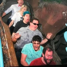 Markiplier and friends go on a log ride | Amy Nelson (Peebles) Ethan (CrankGameplays) Bob (muyskerm) Tyler (Apocalypto_12) Wade (LordMinion777)