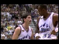 1998 NBA Finals - Utah Jazz Vs. Chicago Bulls - Game 6...epicness by Jordan in his final game w/ the Chicago Bulls
