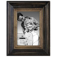 Two Tone Walnut Picture Frame