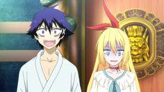Nisekoi - Épisode 2 : Rencontre fortuite. Plus d'informations sur la série sur http://anime.kaze.fr/catalogue/nisekoi