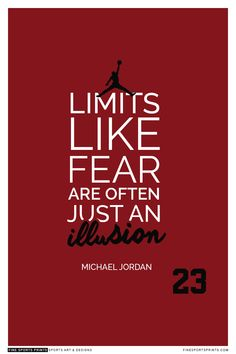 """Michael Jordan Quote on Print. See more at www.finesportsprints.com #jordan #sportsquote #chicagobulls"""
