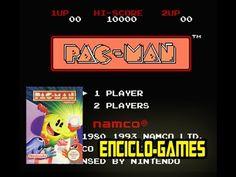NES Gameplay #17 - Pac-Man  (Nintendo classic mini)