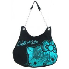 ee5e5e886ff7 Am I too old to carry a Hello Kitty Dazzled Shoulder Hobo Bag with Silver  Chain