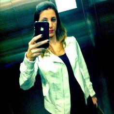 Episódio de hoje: The Silver Jacket - @camifashiontips- #webstagram