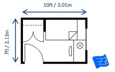 minimum bedroom size for a single bed built to minimum code