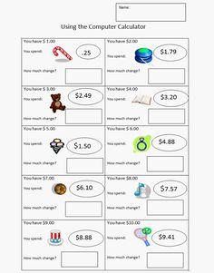 making change coffee shop math math math worksheets math classroom learning money. Black Bedroom Furniture Sets. Home Design Ideas