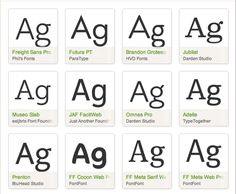 Basic rules and concepts of web typography