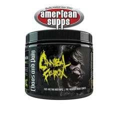 Chaos and Pain Cannibal Ferox Booster 244 g #preworkout #Supplements #Fitness #Workout #Health #Bodybuilding #Nutrition #Exercise #Muscle #Gym #PostWorkout #Vitamins #Protein #Fit #WeightLoss #Energy #Smoothie #richpiana #Creatine #MuscleBuilding #Bodybuilder