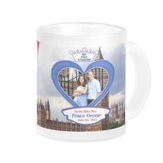 Royal British Baby Prince George Coffee Mug to commemorate the special event.