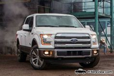 2015 Ford King Ranch F 150 front end