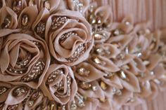 Close Up: The Amelie gown | #CatherineDeane #SS15 #embellishment