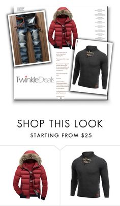 """""""http://www.twinkledeals.com/ 9/1"""" by deyanafashion ❤ liked on Polyvore featuring Haute Hippie, Whiteley, men's fashion and menswear"""