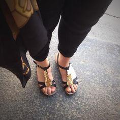 Mephiston Irma-sandaalit ovat kevyet ja kauniit jaloissa.