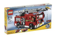 Compare prices on LEGO Creator Set Fire Rescue from top online retailers. Save money on your favorite LEGO figures, accessories, and sets. Lego Creator Sets, The Creator, Black Friday Toy Deals, Lego Fire, Lego City Police, Lego Birthday Party, Birthday Gifts, Building Blocks Toys, Vintage Lego