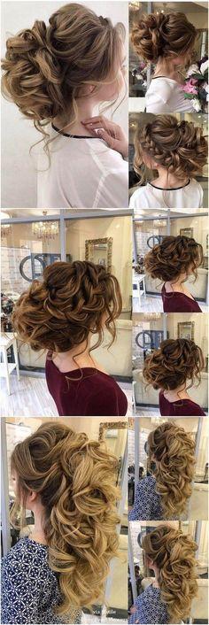 Bridal Hairstyles : Elstile Long Wedding Hairstyle Inspiration / www.deerpearlflow