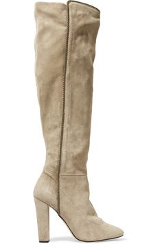 7db60f3d144 OSCAR DE LA RENTA Emmi Suede Over-The-Knee Boots.  oscardelarenta