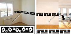 Hola amigos, hoy os mostraremos una forma original y económica para decorar habitaciones con estilo. Descubre nuestra colección de cenefas adhesivas, económicas y de rápida colocación. Os dejamos con algunos modelos ¡Disfruta decorando! http://www.papelpintadoyvinilos.com/vinilos-decorativos-cenefas