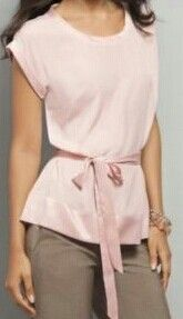 Powder pink blouse