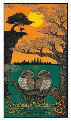 Eddie Vedder - Concert Poster