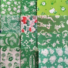 60's origami 千代紙