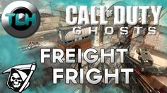 CoD Ghosts : Freight Fright ! KEM Gameplay/Commentary