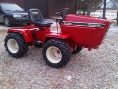 Case Colt Ingersoll Lawn and Garden Tractor Forum Yard Tractors, Lawn Mower Tractor, Small Tractors, Compact Tractors, International Tractors, International Harvester, Garden Tractor Pulling, Homemade Tractor, Crawler Tractor