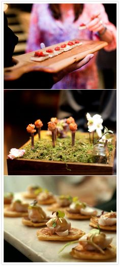 creative catering - fork forest