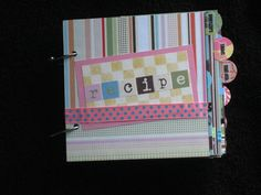 Cute Handmade Recipe Book