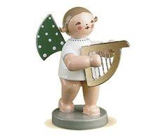 Engel mit Harfe klein 650/14b von Wendt & Kühn Wendt & Kühn Orchester Engel