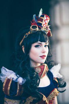 "steampunktendencies: ""Steampunk Snow White Cosplay : Tenkou Cosplay Photo : Carl Oscar Photography """