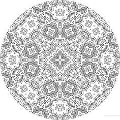 dessin mandala a colorier numero 083 mandala coloriage adulte via dessin2mandalacom
